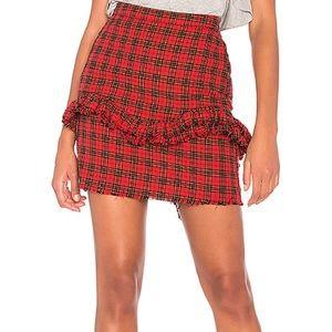NWOT NSF Tartan Carmen Skirt